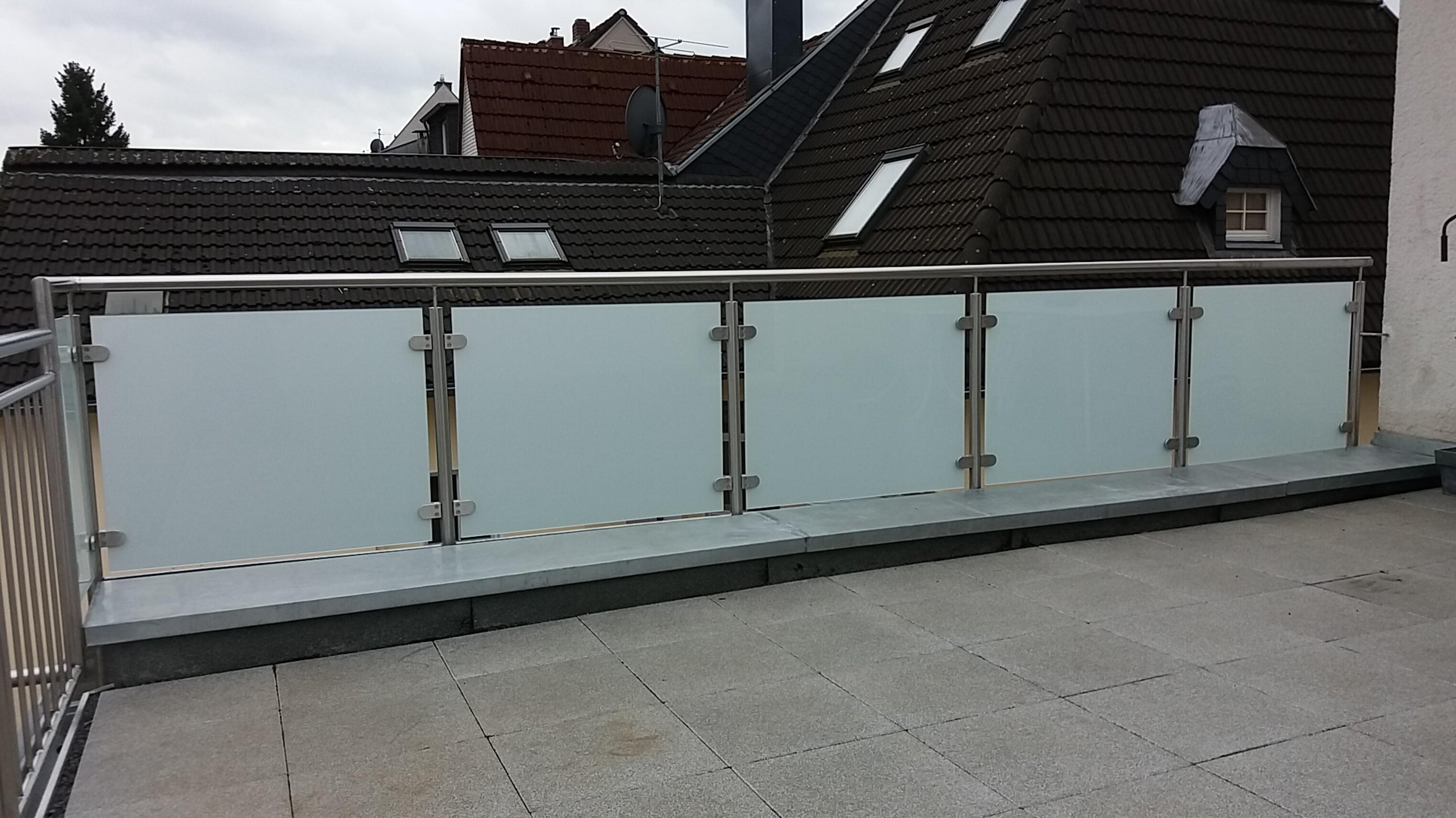 Terrassen Und Balkongelander Metallbau Brendel